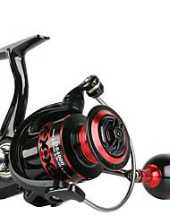 cheap -Fishing Reel Spinning Reel 5.0:1 Gear Ratio 2+1 Ball Bearings for