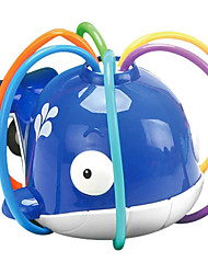 cheap -Sprinkler Toy for Kids, Whale with 6 Swing Tubes Creative Sprinkler Water Toy, Summer Spinning Sunflower Sprinkler Water Toys, Shower Play Toys for Toddlers Boys Girls
