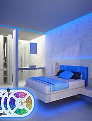 cheap -LED Strip Lights Waterproof App Intelligent Control Bluetooth Music Sync 20M(4x5M) RGB Tiktok Lights Flexible 5050 SMD 600 LEDs IR 24 Key Bluetooth Controller with Installation Package 12V 8A Adap