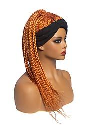 cheap -african lady braid wig headgear, chemical fiber dirty braid wig headgear, cloth art turban wig headgear