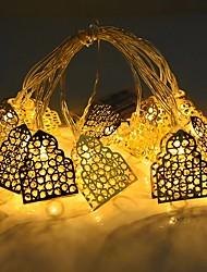 cheap -LED Castle String Lights 1.5M 10LEDs Eid Mubarak Battery Operated Islamic Muslim Party Eid Home Garden Decoration Fairy Lights