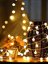 cheap -LED String Lights Small Bulb Star 1.5m 10LEDs 3m 20LEDs USB or Battery Operation Garland Fairy Light String for Christmas Wedding Party Home Outdoor Holiday Decoration 1 set