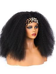 cheap -foreign trade new style hair band wig european and american fashion headscarf fluffy curly hair high temperature silk chemical fiber headgear
