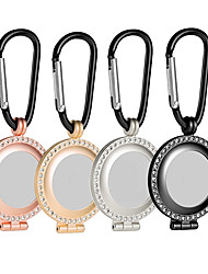 cheap -Premium Metal Protective Case for Airtag Portable Rhinestone Skin Cover with Keychain Anti-Lost Anti-Scratch Lightweight Case Compatible with AirTag Loop
