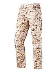cheap -Men's Camouflage Hunting Pants Tactical Pants Windproof Quick Dry Breathable Sweat-Wicking Winter Autumn Camo / Camouflage Bottoms for Camping / Hiking Hunting Combat Jungle camouflage Black
