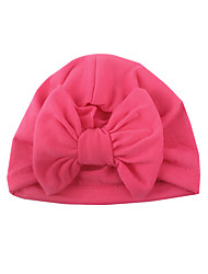 cheap -amazon new european and american baby baby bow hat children's solid color indian hooded cap in stock
