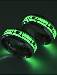cheap -luminous heartbeat ring, popular jewely