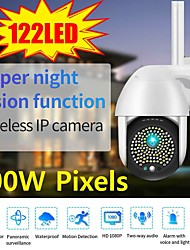 cheap -2021 5mp ptz wifi ip camera outdoor 122 led 1080p 8x digital zoom wireless security cctv surveillance camera two way audio cloud