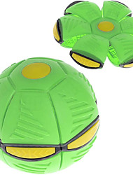 cheap -Kids Toy Flying Saucer Ball Magic Deformation Light UFO with LED Light Flying Toys Venting Decompression Parent-Child Toy