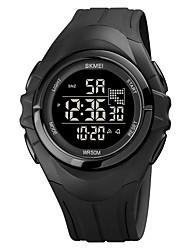 cheap -SKMEI Men's Sport Watch Digital Digital Sporty Stylish Calendar / date / day Chronograph Alarm Clock / One Year