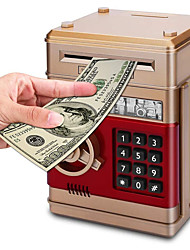 cheap -Piggy Bank / Money Bank Mini ATM 1 pcs Gift Electronic Password Plastic For Kid's Adults' Boys and Girls