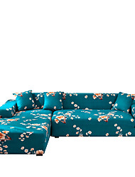 cheap -Sofa Cover Color Printing  Dustproof Stretch Slipcovers Stretch Super Soft Fabric Couch Cover Fit for 1to  4 Cushion Couch and L Shape Sofa (You will Get 1 Throw Pillow Case as free Gift)