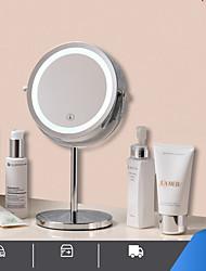 cheap -European-style Desktop Mirror With Light Hd Makeup Mirror Mobile Power Makeup Mirror Led Desktop Beauty Mirror Fill Light Mirror
