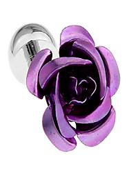 cheap -epinki cufflinks for men purple flower cufflinks shirt business men jewelry gift box