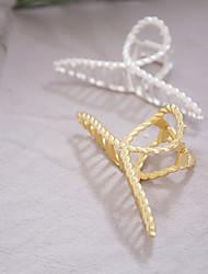 cheap -korean version of hair accessories hairpin female japanese large chain adult headdress cross hair catch bath plate hair metal catch clip