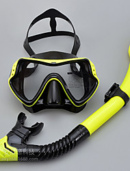 cheap -Diving Package - Diving Mask Snorkel - Full Face Mask Underwater Diving Scuba Silicone  For  Adults
