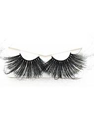 cheap -100% Mink Eyelashes False Eyelashes Criss-cross Natural Fake Lashes Length 70mm Makeup 3D Mink Lashes Extension Eyelash Beauty