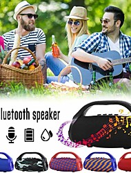 cheap -TG136 Flashlight Bluetooth Speaker Portable Outdoor Wireless Subwoofer Mini Column Stereo Music Surround Support FM TFCard Bass Box