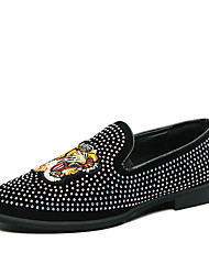 cheap -Men's Loafers & Slip-Ons Tassel Loafers Rockstud shoes Penny Loafers Business Casual Classic Daily Party & Evening Walking Shoes Nappa Leather Cowhide Breathable Handmade Non-slipping Booties / Ankle