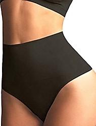 cheap -womens high waist cincher girdle tummy slimmer sexy thong panty shapewear postpartum underwear