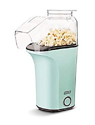 cheap -dash dapp150v2aq04 hot air popcorn popper maker with measuring cup for serving popping corn kernels + melted butter, 16, aqua