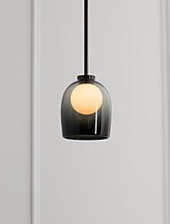 cheap -LED Pendant Light Glass Bedside Light Postmodern Small Chandelier American Art Restaurant Sofa Porch Designer