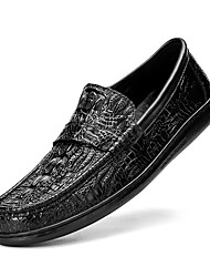 cheap -Men's Loafers & Slip-Ons Leather Shoes Tassel Loafers Dress Loafers Business Casual British Daily Office & Career Walking Shoes Nappa Leather Cowhide Breathable Handmade Non-slipping Booties / Ankle