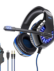 cheap -OVLENG GT81 Gaming Headset USB 3.5mm Audio Jack PS4 PS5 XBOX Ergonomic Design Retractable Stereo for Apple Samsung Huawei Xiaomi MI  PC Computer Gaming