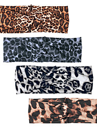 cheap -european and american hot-selling headbands, fashion leopard cross hairbands, facial cleansing mask, wide brim headband