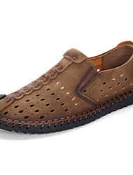 cheap -Men's Loafers & Slip-Ons Comfort Loafers Daily Valentine's Day Outdoor Leather Summer
