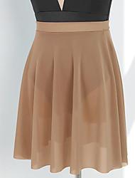 cheap -Ballet Activewear Skirts Solid Women's Training Performance High Nylon