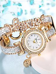 cheap -women's love bracelet watch diamond quartz watch