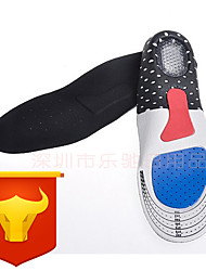 cheap -Memory Foam Shoe Inserts Running Insoles Women's Men's Sports Insoles Foot Supports Shock Absorption Arch Support Moisture Wicking for Fitness Gym Workout Running Fall Winter Spring Blue / Cotton