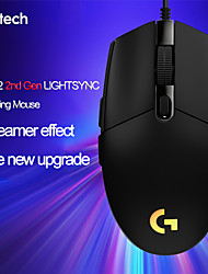 cheap -logitech g102 lightsync/prodigy 2nd gen gaming wired mouse game mouse support desktop/ laptop windows 10/8/7 optical mouse
