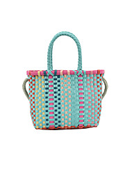 cheap -Women's Bags Top Handle Bag Straw Bag Holiday 2021 Straw Bag Handbags Blue