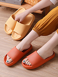 cheap -Wholesale Eva Thick-Soled Slippers Summer Home Bathroom Bath Men's Women's Sandals And Slippers Couple Non-Slip Indoor Slippers