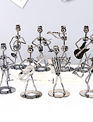 cheap -8pcs Creative Wrought Iron Band Ornaments Desk Home Collectibles