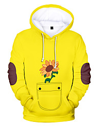 cheap -Inspired by wonder egg priority Cosplay Cosplay Costume Hoodie Terylene Graphic Prints Printing Hoodie For Women's / Men's