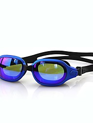 cheap -Swimming Goggles Waterproof Portable Anti-Fog For Adults' Acetate Polycarbonate Reds Pink Blacks Blue
