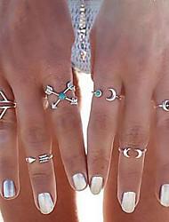 cheap -Multi Finger Ring Geometrical Gold Silver Alloy Precious Vintage 1 set One Size / Women's