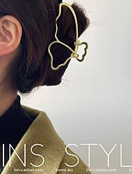 cheap -dongdaemun, korea, ins french retro temperament metal butterfly line wash hair clip