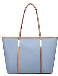 cheap -Women's Bags Tote Top Handle Bag Zipper Date Office & Career 2021 Handbags Black Blue Blushing Pink Orange