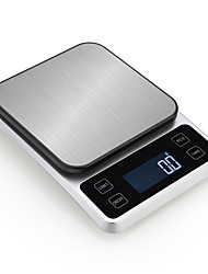 cheap -0.5g-5000g Auto Off LCD Display Multi - mode Electronic Kitchen Scale Home life Kitchen daily