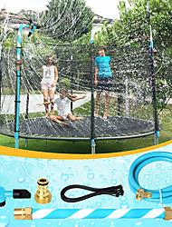 cheap -Trampoline Sprinkler, 360 Degree Rotation Water Sprinkler for Trampoline, Outdoor Water Yard Toys for Boys Girls Summer Water Fun