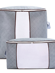 cheap -Large Storage Bags Clothes Storage Bins Foldable Closet Organizers Storage Containers with Durable Handles Thick Fabric for Blanket Comforter Clothing Bedding 90L