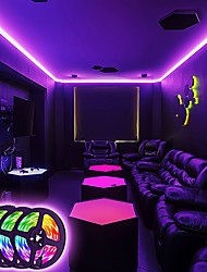 cheap -LED Strip Lights Music Sync RGB Strips 20M Tape Light 600LEDs SMD5050 Color Changing  Bluetooth Controller  24Key Remote Control Decoration for Home TV Party - APP Controlled