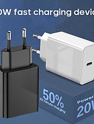 cheap -20 W Output Power PD Charger Fast Charger Portable Charger Portable Multi-Output NULL For Cellphone