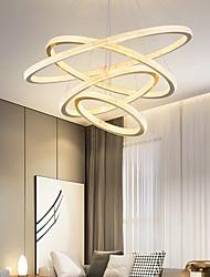 cheap -LED Pendant Light Modern 4 Rings Gold 80 cm Modern Nordic Luxury Light Aluminum Electroplated 110-120V 220-240V
