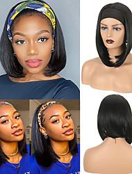 cheap -amazon foreign trade wigs european and american bob wigs female hair wigs hair band wig headgear