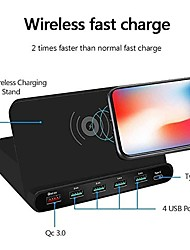 cheap -60 W Output Power USB PD Charger 4 in 1 Wireless Chargers Wireless Charger QC 3.0 Wireless Charger For Universal Cellphone
